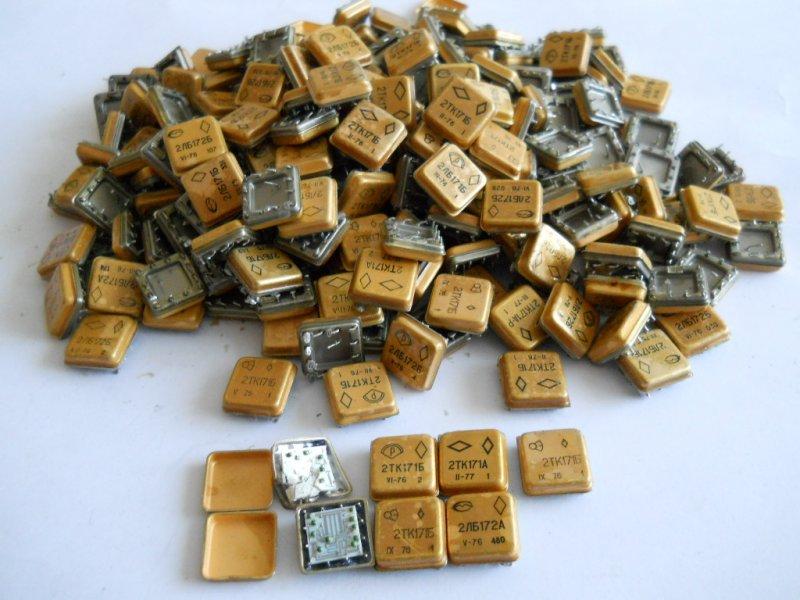 драгметаллы в радиодеталях фото